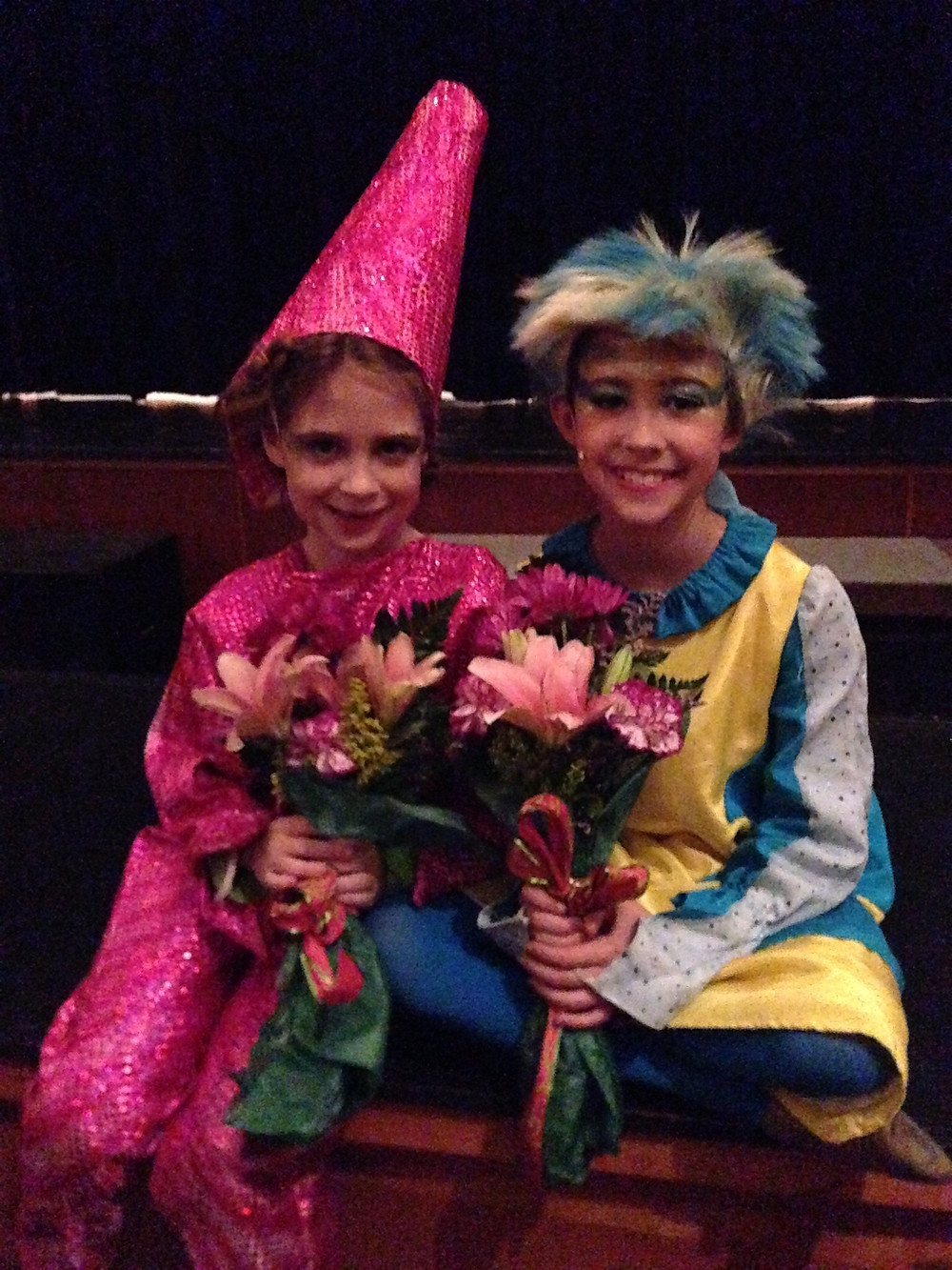 Rennah and her sister Nessa in The Little Mermaid