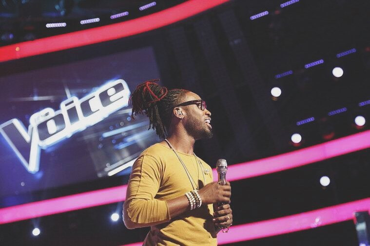 Delvin Choice on The Voice