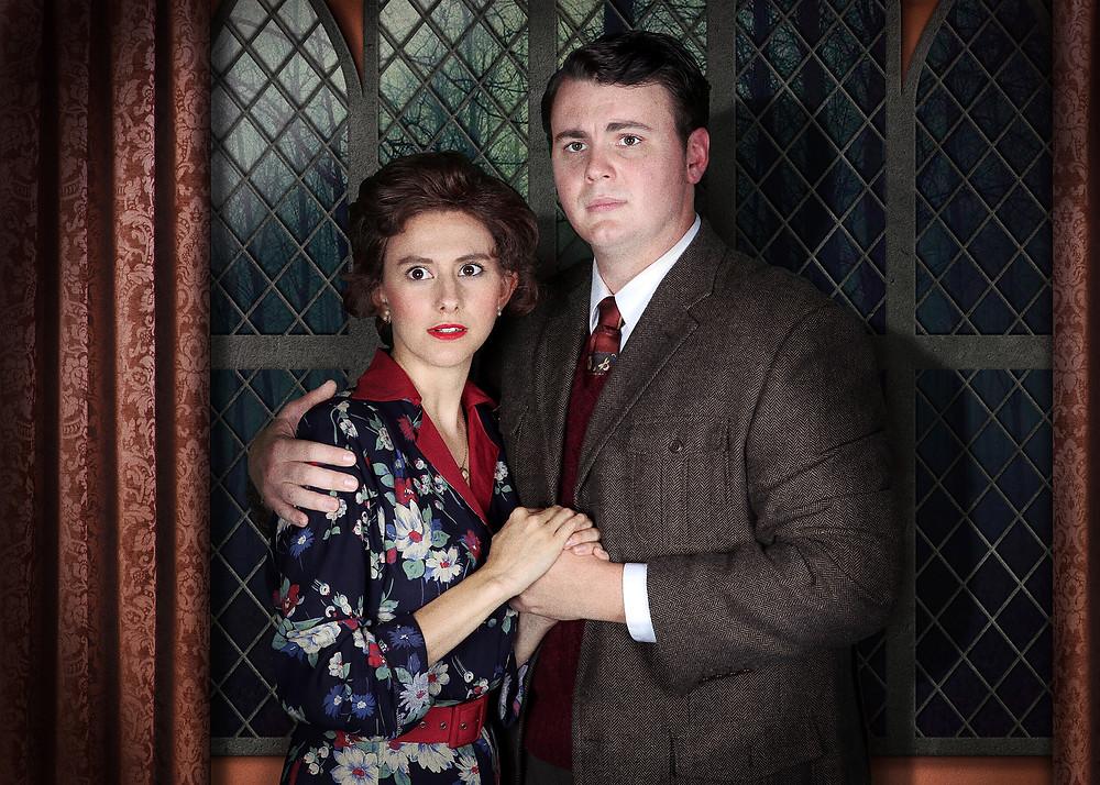 Emily Grove and Craig Smith as Mollie and Giles Ralston in The Mousetrap ©Escobar Photography