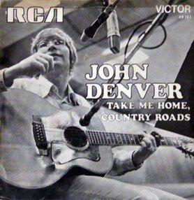 """John Denver album cover for """"Take Me Home, Country Roads"""""""