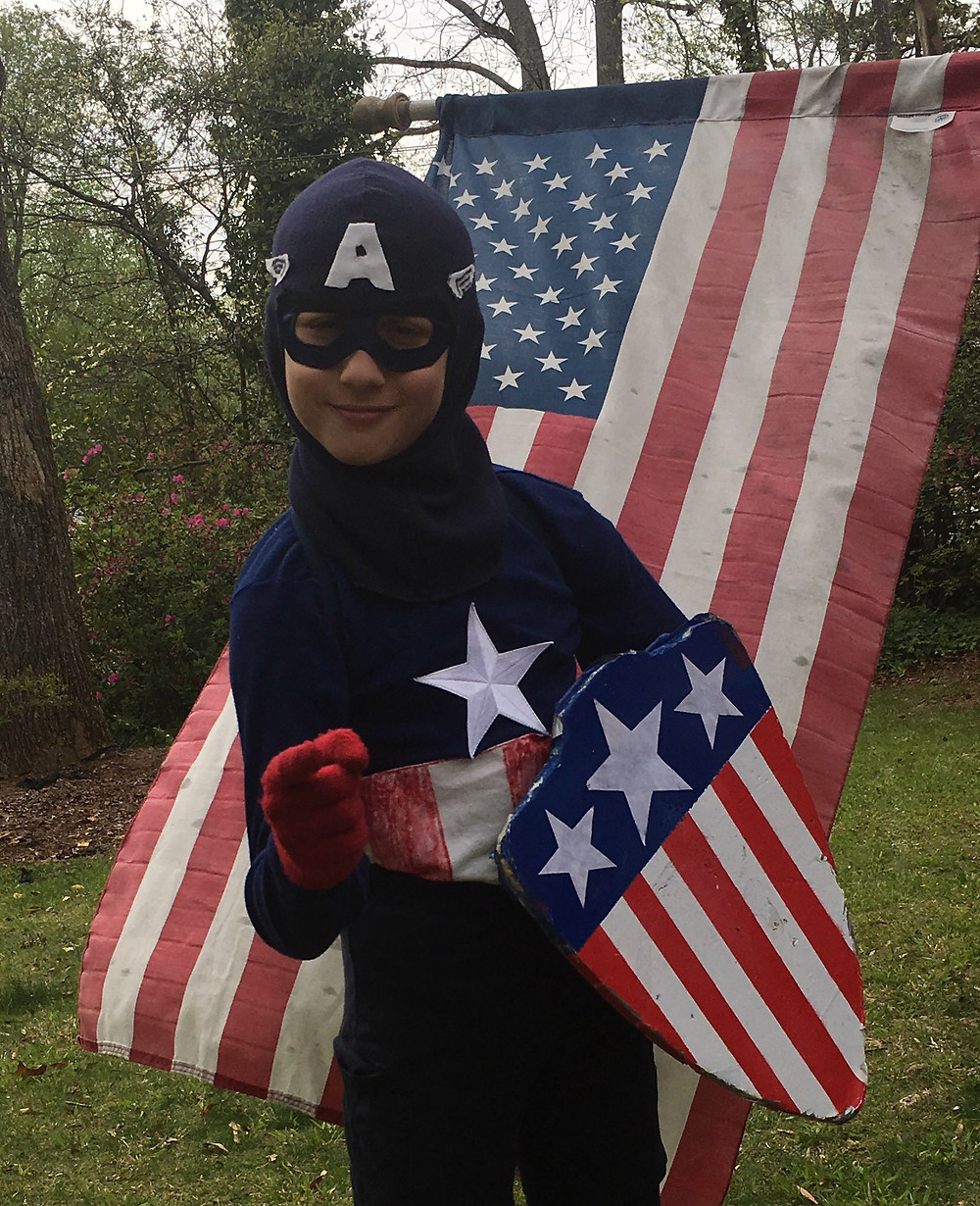Shaw Shurley as Captain America