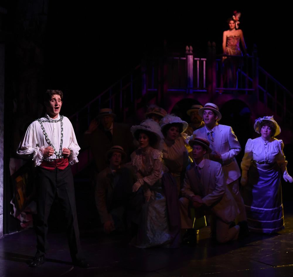 Allen Carter who plays Harry Houdini in Ragtime ©Wallace Krebs Photography