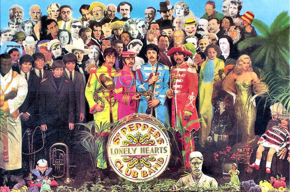 Photo of Sgt. Pepper Album Cover