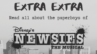 #4 EXTRA EXTRA! Read all about the paperboys of Disney's Newsies!