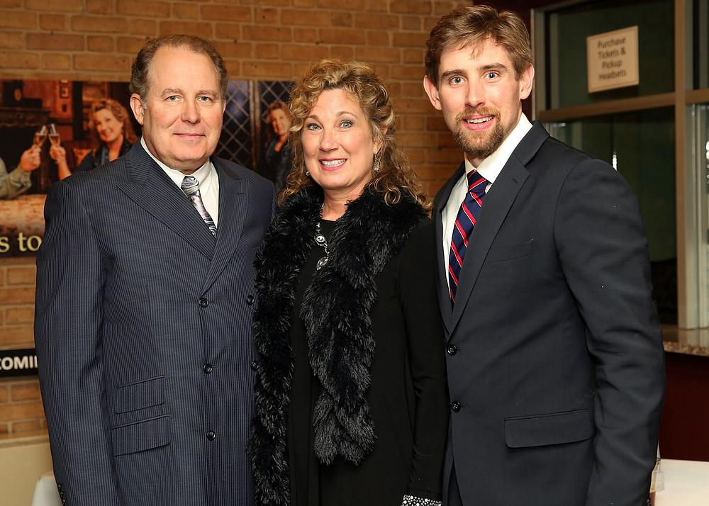 Suzanne, Sam, and Allen McCalla