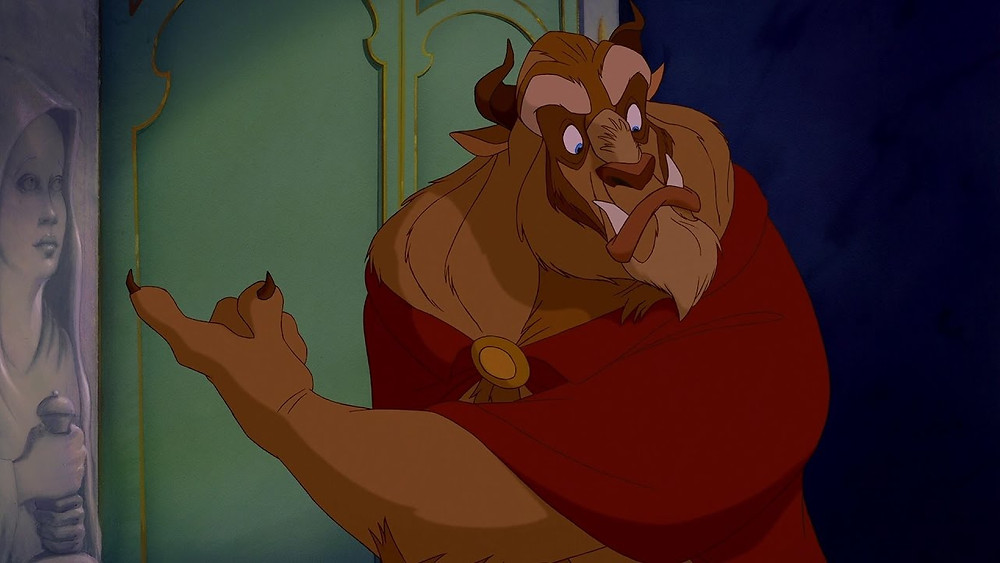 Beast from 1991 Beauty and the Beast movie