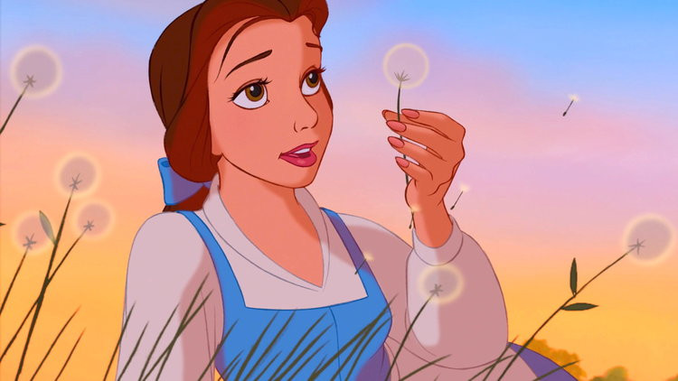 Belle from 1991 Beauty and the Beast movie