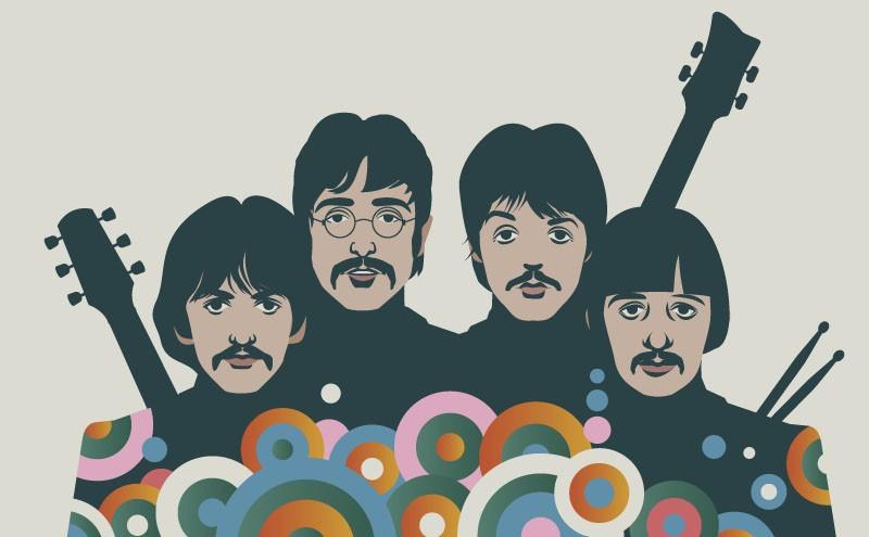 Artwork of The Beatles