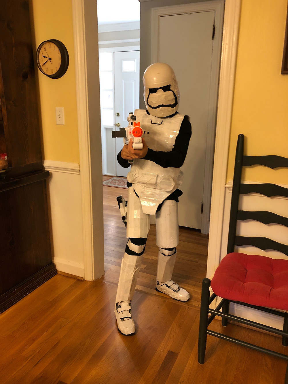 Shaw Shirley as a Storm Trooper