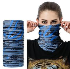 Custom printed bandana tubular scarf