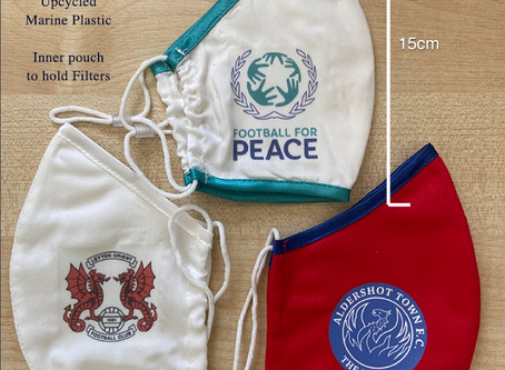 New Personalised Eco Friendly Reusable Face Masks