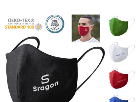 Embroidered Reusable Cotton Face Masks
