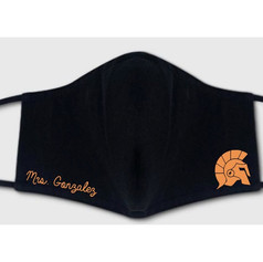 Logo face masks for schools colleges and universities