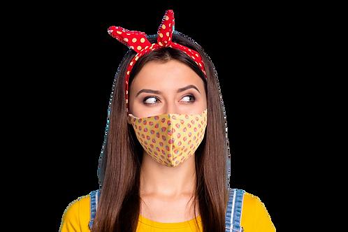 Adjustable Custom Printed Face Masks minimum order 50 masks