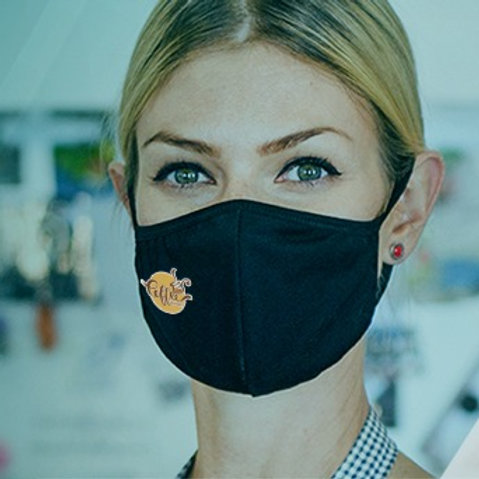 Premium Antimicrobial Mask with Custom Logo
