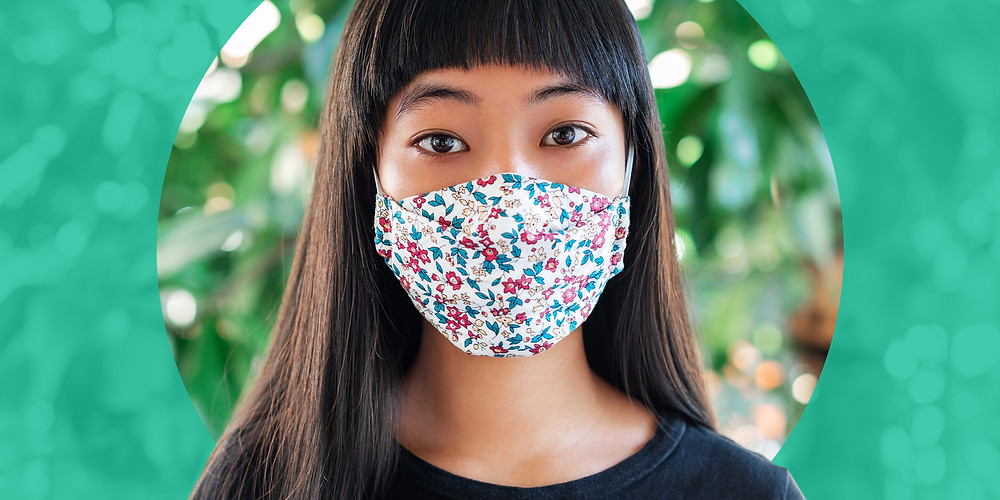 Eco Friendly Cotton Face Masks. Buy branded cotton face masks with your logo, text or image
