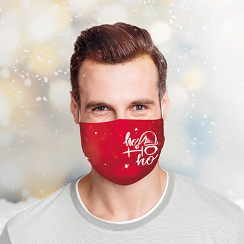 Merry Chrismasks Custom Printed Reusable Face Masks from