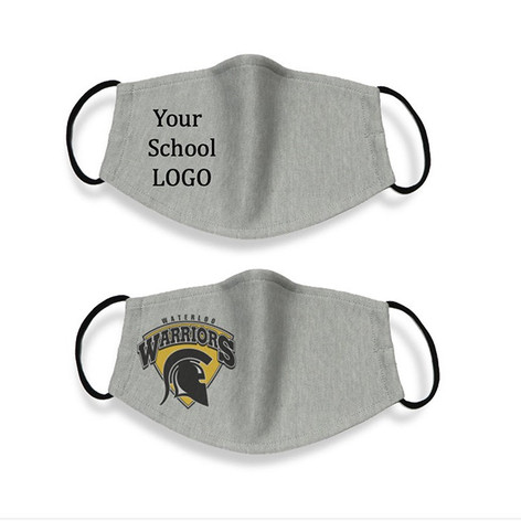 Printed face masks for schools
