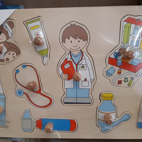 "puzzle ""médecin"""