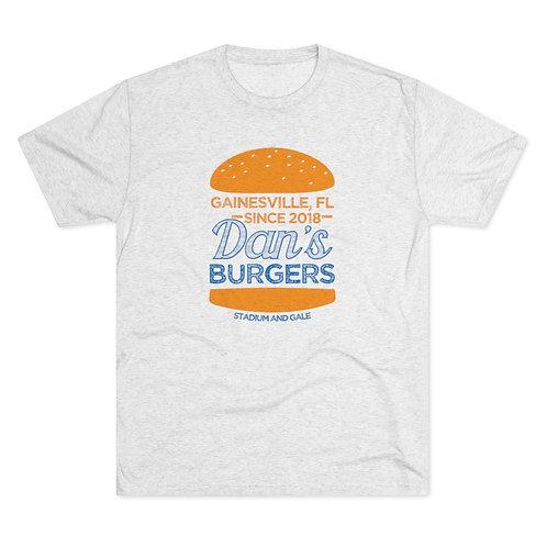 """Dan's Burgers"" Tri-Blend Crew Tee"