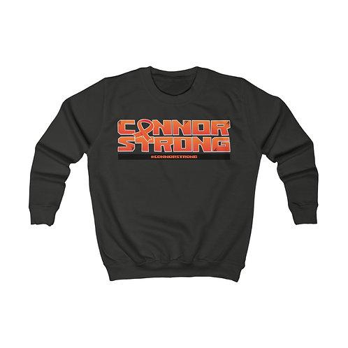 #ConnorStrong Kids Sweatshirt