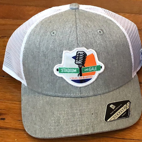 Gray Adjustable Hat