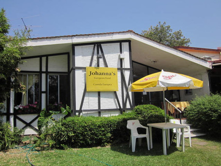 Johanna's Restaurante in Ajijic, Lake Chapala