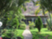 Casa Karen gardens and home exterior in Riberas del Pilar, Jalisco, Mexico