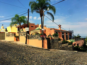 Casa Thornton home street view, in Upper Chula Vista, Chula Vista, Jalisco, Mexico