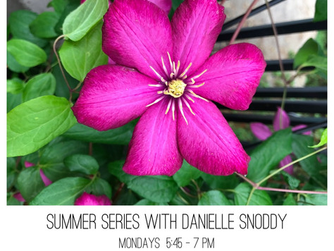 Summer Yoga Series with Danielle