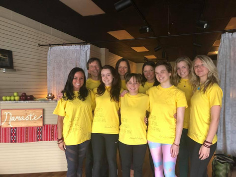 Shoals Yoga Teacher Training Graduation & Potluck Celebration