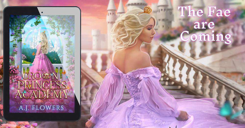 Crown Princess Academy Cover