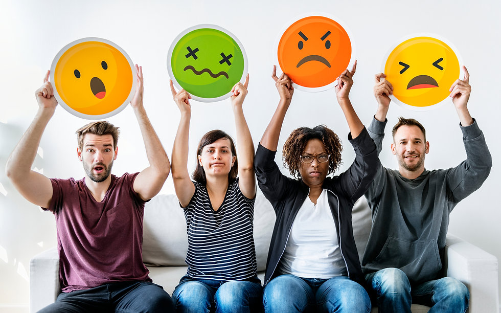 Diverse people holding emoticon.jpg