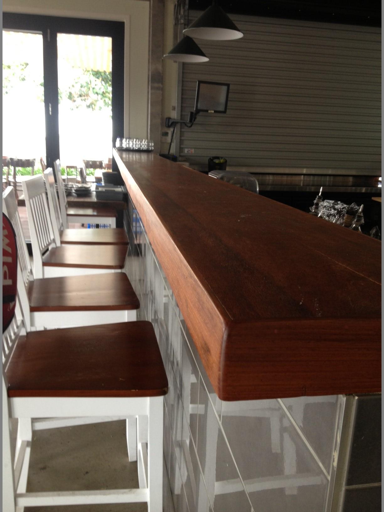 Silky Oak Bar Top