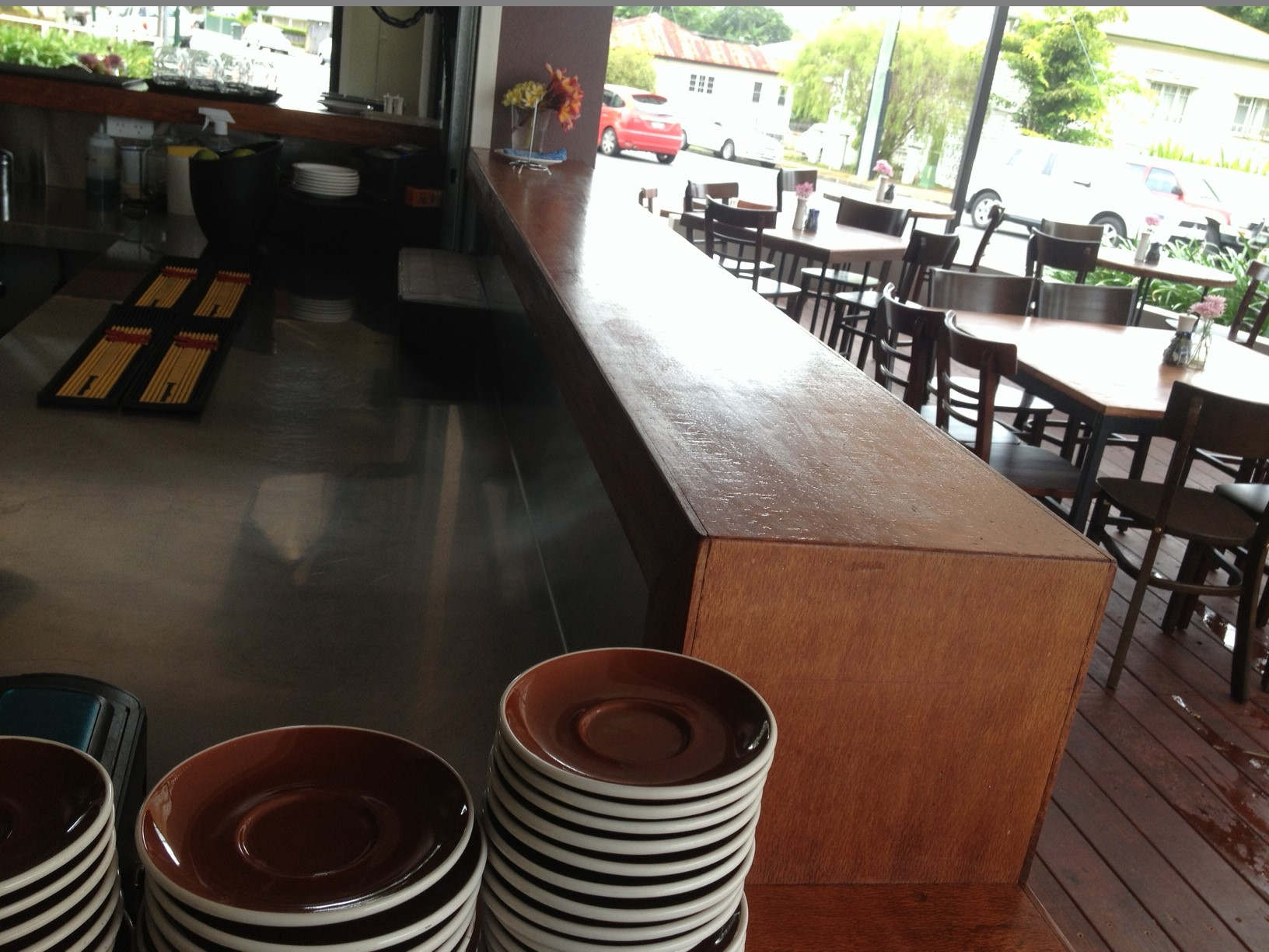 Silky Oak Bar Top