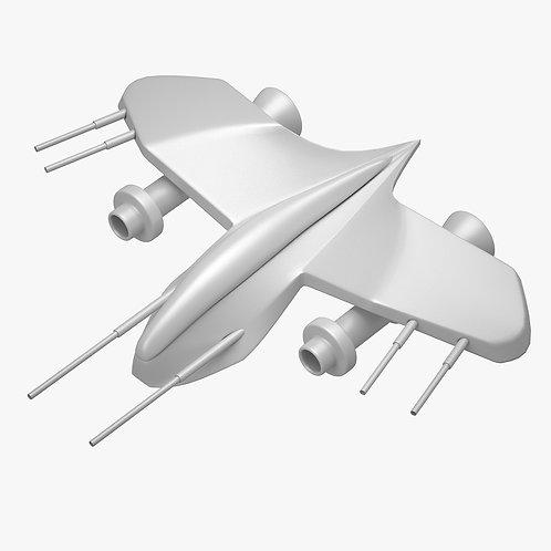Spaceship 3D Print