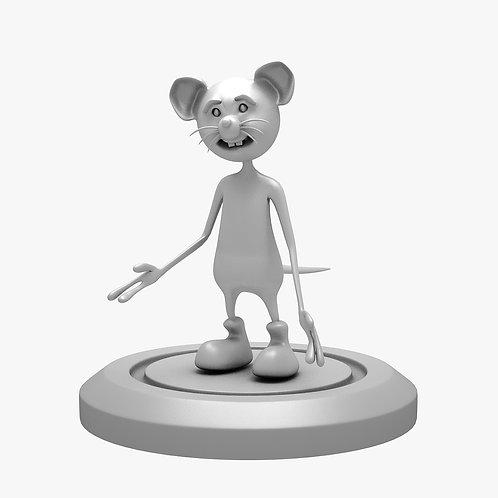 Cartoon Mouse 3D Print