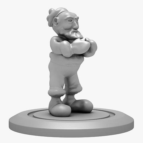 Santa 3D Print