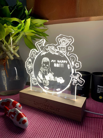 3D Personalised Magic Light   立體個人造型燈座
