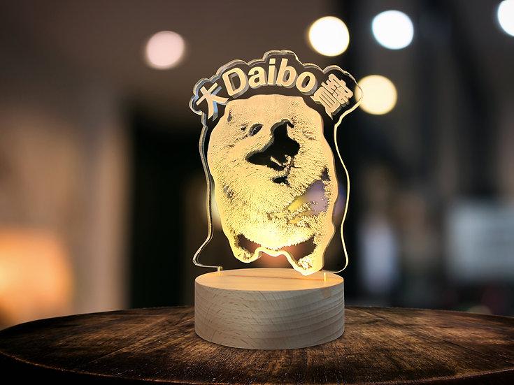 Pet Pet Magic Light 竉物造型燈座