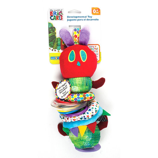THE VERY HUNGRY CATERPILLAR Retractable Jiggle Toy 30cm
