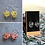 Thumbnail: Set of Three Scribble Earrings