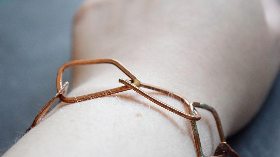 Copper Link Bracelets