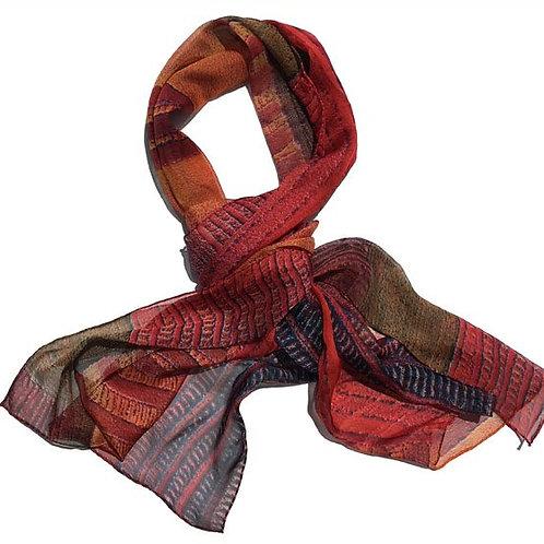 SARETTA Borii Parai silk scarf