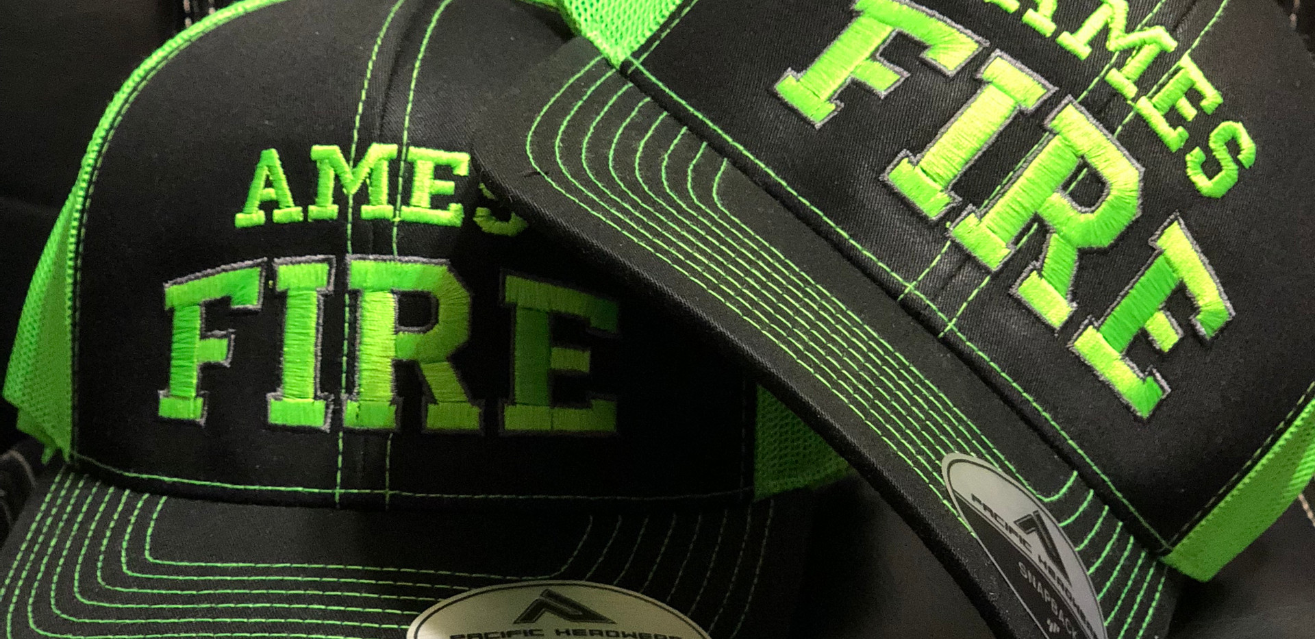 Custom Fire Department Hats
