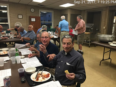SJR Men's Club Meeting and Dinner 21 Sep