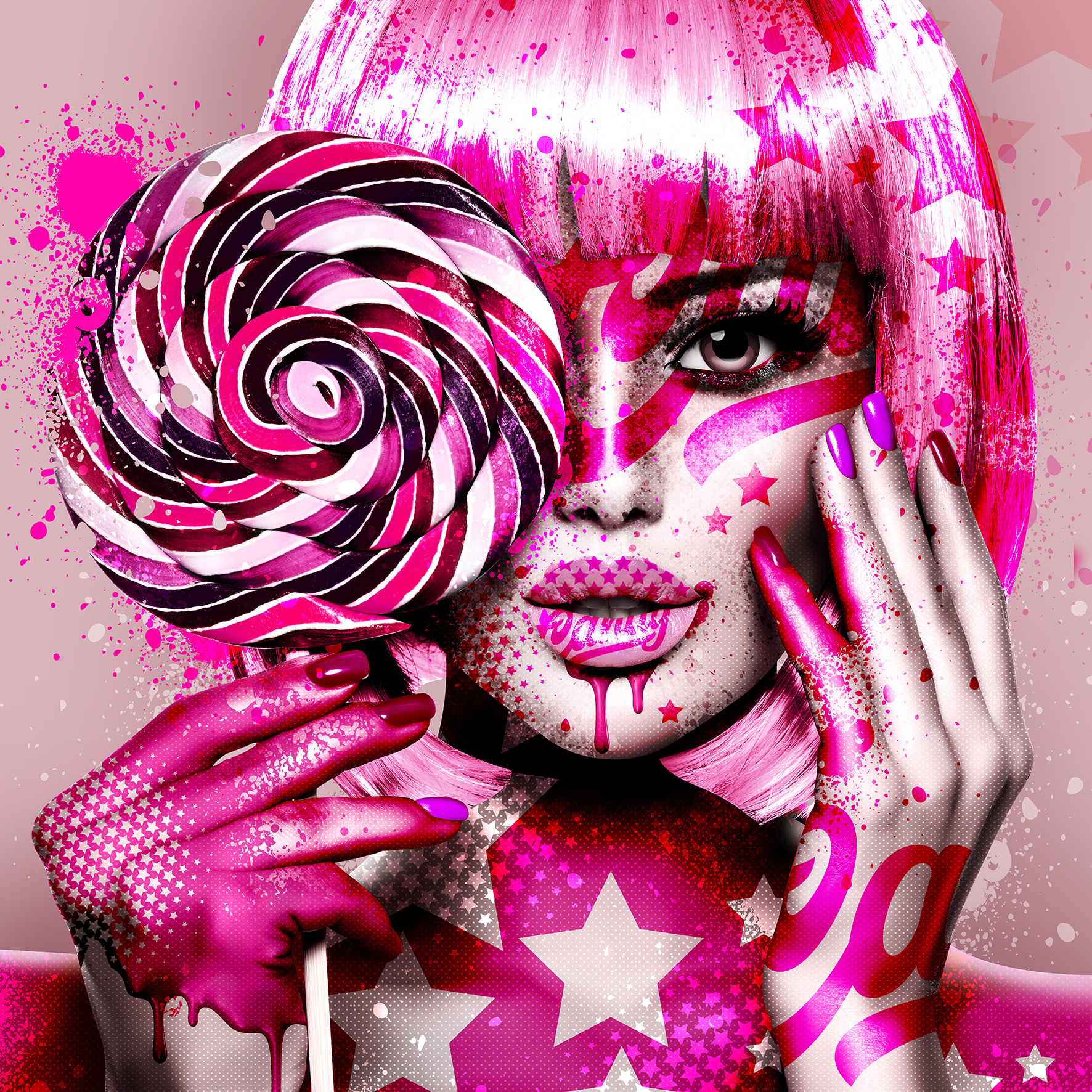 C.A.N.D.Y.  Pink