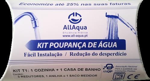 Kit Poupança de Água T1