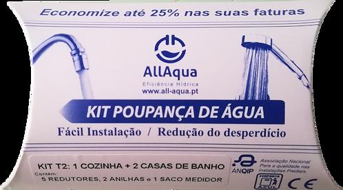 Kit Poupança de Água T2