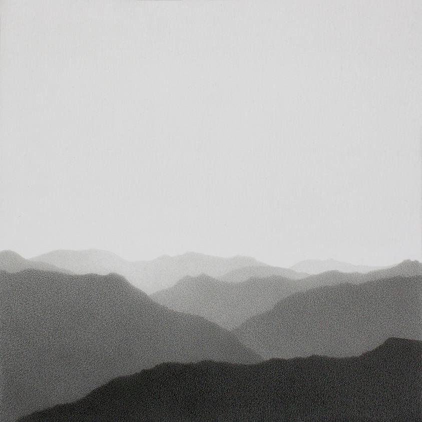 El Chicamocha grafito sobre papel 19 x 19 cm